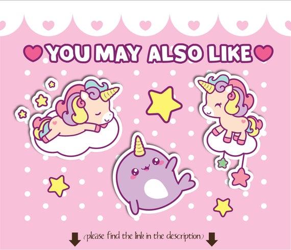 25 Off Unicorn Clipart Kawaii Unicorn Clipart Unicorn