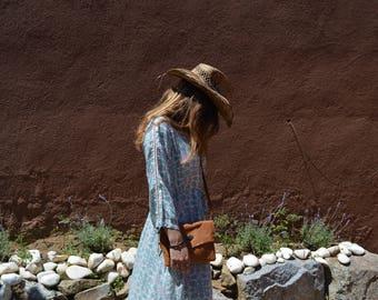 Leather shoulder bag, MILETUS