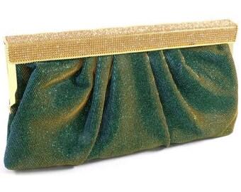 Crystal Glitter Clutch Bag