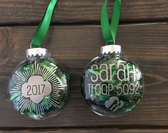 Girl Scout Christmas Ornament Craft Projects