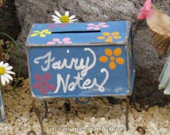 Miniature Fairy Garden Fairy Not Box Hand painted Fairy Garden Accessory