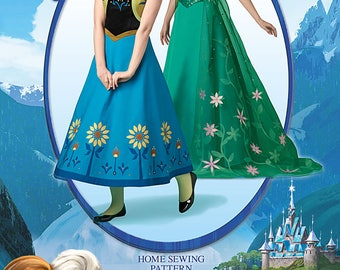 simplicity sewing pattern 1094 - Ice queen and sister spring pattern