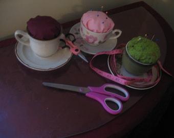 Tea-Cup PinCushion