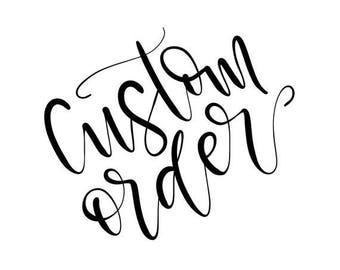 Custom Wedding Sign for Haley