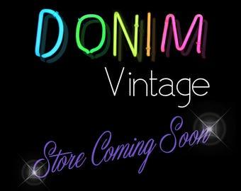 Donim Vintage - Store Coming Soon!