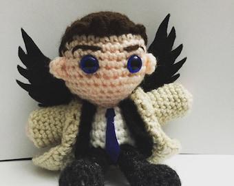 Castiel Amigurumi Crochet Doll