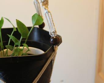 Handmade Macrame Planthanger