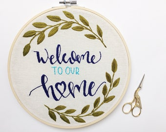 Welcome to our home embroidery hoop