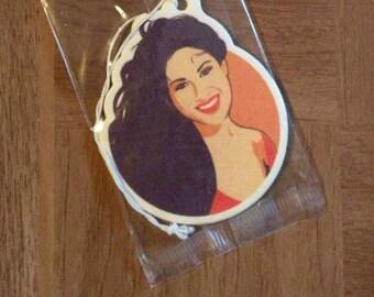 Selena quintanilla etsy selena quintanilla tejas air freshener voltagebd Gallery
