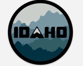 Idaho Mountain Camo - Sticker/Decal