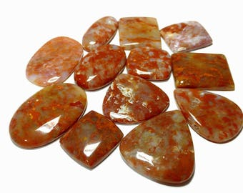 red jasper cabochons are available 12 pcs 97.7 gm GM417