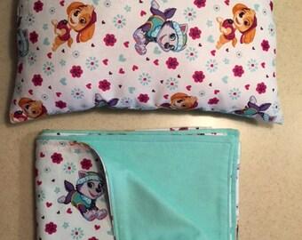 Toddler's Blanket & Pillow Set