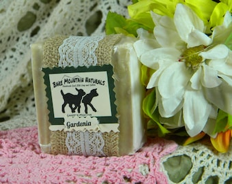 Gardenia fragrance All Natural Goat Milk Soap