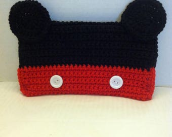 Mickey Pencil Case, Mouse Ears Pencil Case, Mickey Pencil Holder, Mickey pencil bag, Pencil Case, Pencil Pouch, Pencil Holder, School pencil