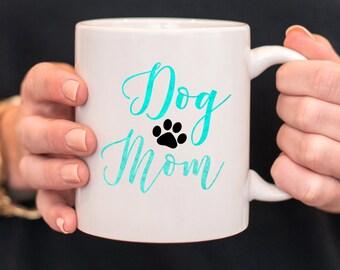 Dog Mom Mug/ Dog Mug/ Christmas Gift/ Pet Lover Gift/ Gift for Dog Mom/ Dog Lover Gift/ Gift Idea/ Gift for Coworker/ Cheap Gift Idea