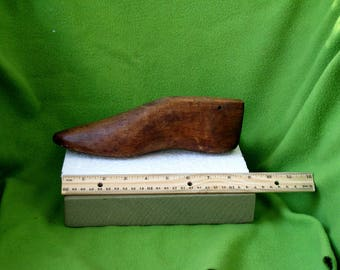 Cobblers Tools, Antique Wooden Shoe Lath for a Fancy Shoe,Likely Used in the Very Early 1800's