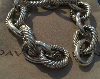 David Yurman XL link bracelet