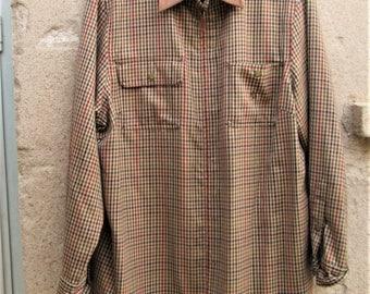 Vintage Ralph Lauren Shirt, unisex shirts, men/women jackets, wool shirts, designer clothing, Ralph Lauren clothing