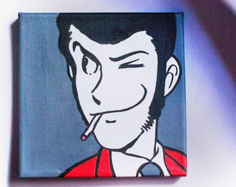 Lupin canvas
