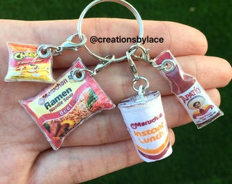 Handmade Mini Soup & Hot sauce Charms! (EACH SOLD SEPARATELY)