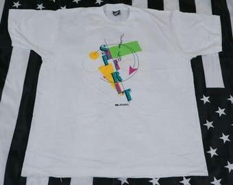 Vintage 80s I've Got Spirit T Shirt Size XL Screen Stars Best Single Stitch