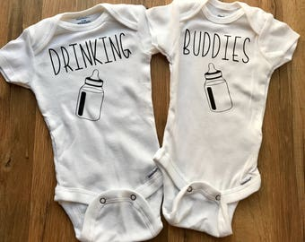 Twins Onesies Etsy