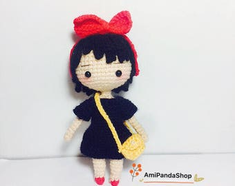 Crochet Doll Pattern-KiKi