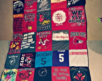 Keepsake T-Shirt Quilt Queen Size