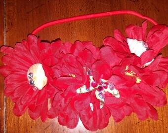 Mermaid Flower Headband