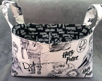 New Harry Potter fabric basket/small toy storage/toy bin/organizer/basket