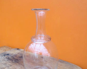 Vintage glass French decanter