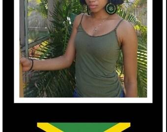 Juniors/Women's Earrings-Jamaica