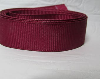 """Grosgrain ribbon 1"""" scarlet (red) sold by the yard"""