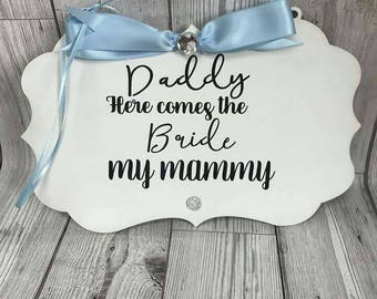 Wedding Aisle Plaque