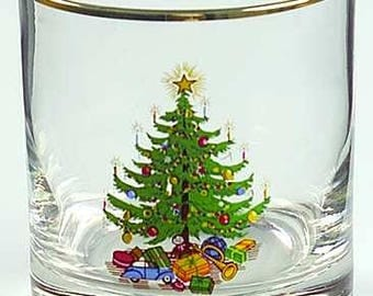 Moderne Old FAshioned Christmas Glasses