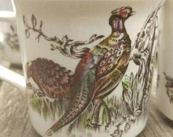 Johnson Brothers Game Birds Three Cups
