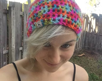 Candy colors beanie