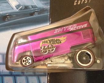 Vintage Interactive VW Bus, Metallic Purple