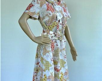 Vintage Hand Sewn Ladies Dress
