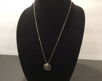 Pretty Silver Necklace