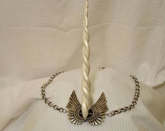 Winged unicorn circlet