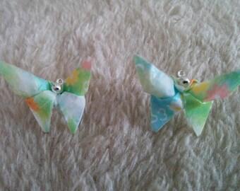 """Earrings """"Butterfly"""" (B_0)"""