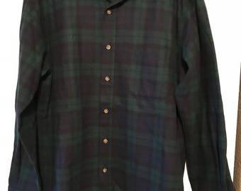 Vtg Original Pendleton Lodge Shirt Sz Men's M