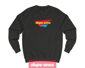 90S Hip Hop Clothing, Retro, Streetwear, Blazed, Bling, Dope, Cool, Swag, Novelty, Apparel, 90s Fashion, 90s Clothing, Dope Ones™ MS001-04