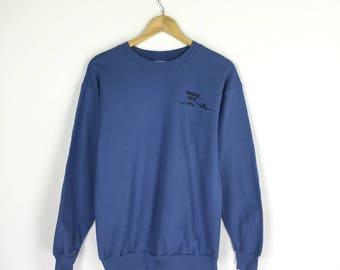 Hanes Sweatshirt Sky Dive Parachute Center sweater