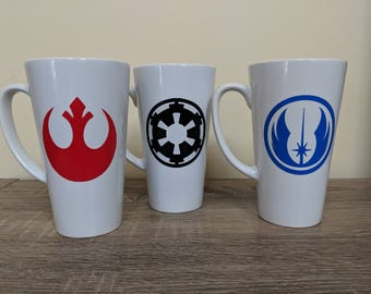 17oz Ceramic Star Wars Latte Mug