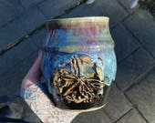 Dragonfly Vase in Runic M...