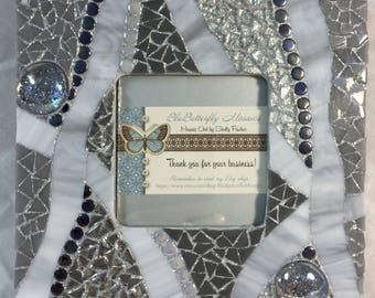 Silver Mosaic Picture Frame