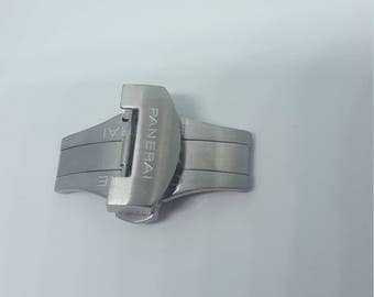 22mm High Quality brushed clasp for Panerai watches.