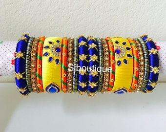 Silk Thread Bangles sets